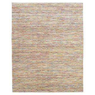john f. by Feizy 0555F Mojave Cotton & Wool Flatweave Rug