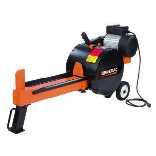 Generac 10 Ton 15 Amp Kinetic Electric Log Splitter WDSRXGCNXQDOX3