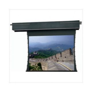 Da Lite Tensioned Executive Electrol Grey 54'' H x 96'' W Motorized Electric Projection Screen