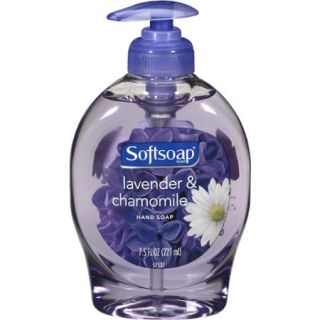 Softsoap Liquid Hand Soap Pump, Lavender and Chamomile, 7.5 Fluid Ounce