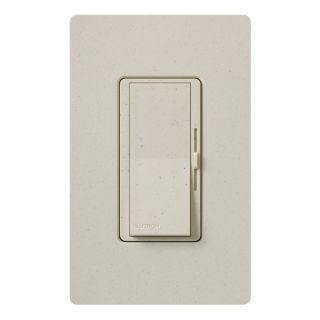 Lutron Diva 1 Switch 450 Watt Single Pole Limestone Slide Dimmer