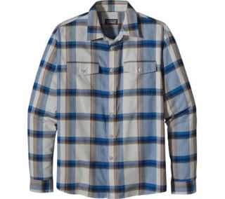 Mens Patagonia Buckshot Flannel Shirt   End Grain/Tailored Grey