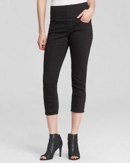 SPANX� Denim Skinny Capri Jeans in Black