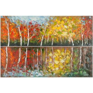 Safavieh Autumn Fantasy Diptych Wall Art