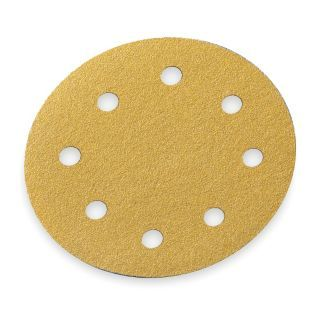 "NORTON 5"" Hook and Loop Sanding Disc, Aluminum Oxide, 100 Grit, Fine, Coated, A290, PK4   2RVC3 07660749157   Grainger"