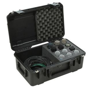 SKB iSeries Injection Molded Waterproof Case with Foam and Storage Compartment 3I 2011 MC12