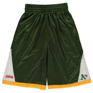 Oakland Athletics Stitches Youth Moneyball Shorts   Green
