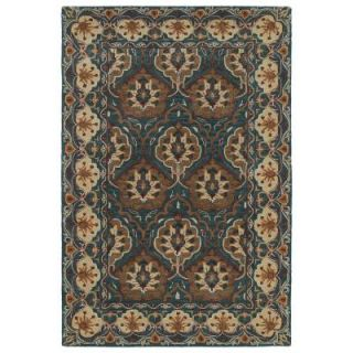 Kaleen Middleton Teal 9 ft. x 12 ft. Area Rug MID07 91 912