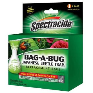 Spectracide Bag A Bug Japanese Beetle Trap2 Disposable Bags (6 Count) HG 56903
