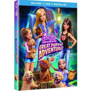 Barbie & Her Sisters In The Great Puppy Adventure (Blu ray + DVD + Digital HD) (With INSTAWATCH) (Anamorphic Widescreen)