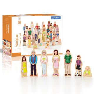 Guidecraft Wedgies Family Playset   Playsets & Toy Figures