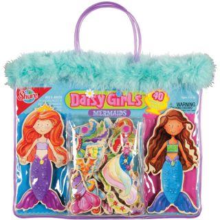 T.S. Shure Daisy Girls' Mermaids Wooden Magnetic Dress Up Dolls