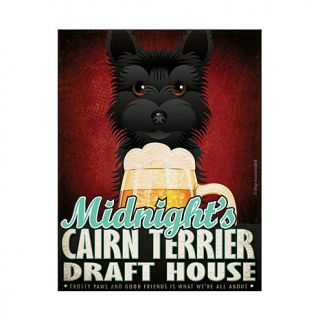 Personal Creations Personalized Draft House Dog Breed Art   Black Terrier   7447507