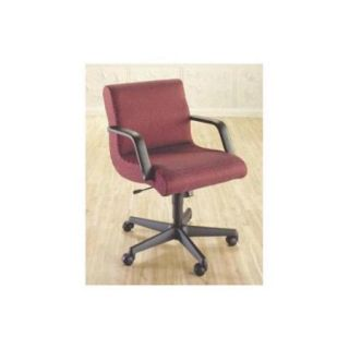 Scoop Management Swivel Chair w Arms (741 Brick Fabric)