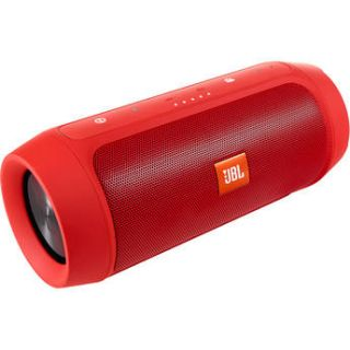 JBL Charge 2+ Portable Stereo Speaker (Red) CHARGE2PLUSREDAM