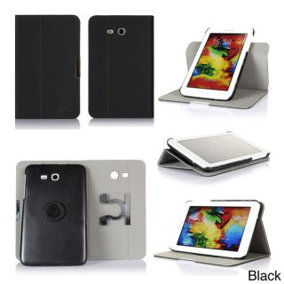 GearIT 360 Spinner Folio Rotating Case Cover for Samsung Galaxy Tab 3
