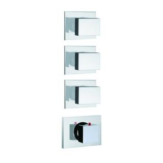 Fima by Nameeks S3513 3 Bio Thermostatic Shower with 3 Volume Control Handles