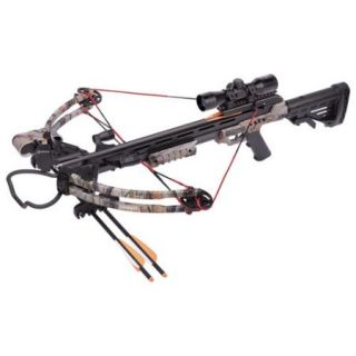 Centerpoint Sniper 370 Crossbow Bundle, Camo