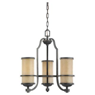Sea Gull Lighting 31520BLE 845 Roslyn 3 Light 1 Tier Energy Star Chandelier in Flemish Bronze