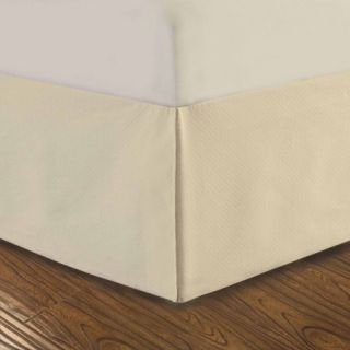 "Dreamspace Diamond Matelasse Tailored 14"" Bedskirt"