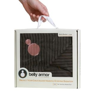 Belly Armor with RadiaShield Chic Maternity Blanket