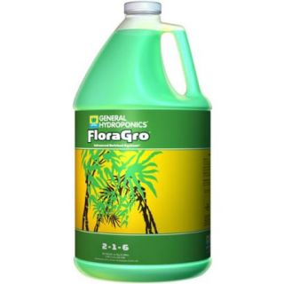 GENERAL HYDROPONICS (1) Gallon of FloraGro Liquid Plant Growth Formula  GH1423