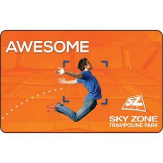 Sky Zone   Columbia Gift Card   2/$25