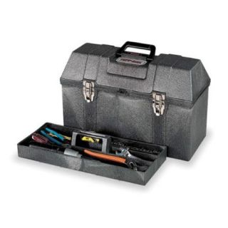 """Portable Tool Box, Structural Foam, 20"""" Overall Width x 9 3/4"""" Overall Depth"""
