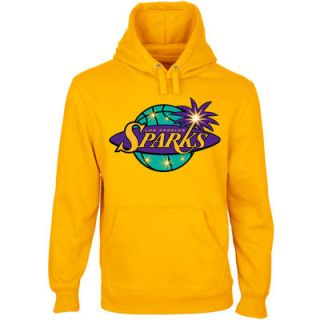 Los Angeles Sparks Primary Logo Pullover Hoodie   Gold