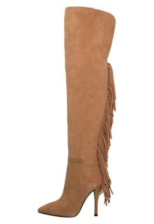 Pierre Balmain Over the knee boots   taupe