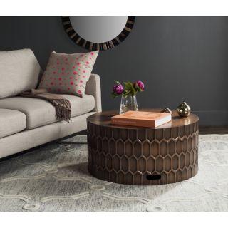 Safavieh Corey Antique Copper Coffee Table   18372954