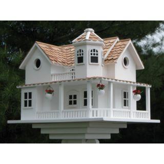 Home Bazaar Signature Series Post Lane Cottage Birdhouse
