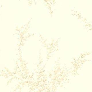 56 sq. ft. Delia Cream Blossom Wallpaper 414 54504