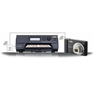ID400DC3 DNP DNP Wireless Passport Photo System with Sony W800 Camera, 100 sec/print Speed, 403 dpi Resolution