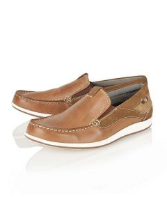 Lotus Since 1759 Robworth mens deck shoe inspired Chestnut