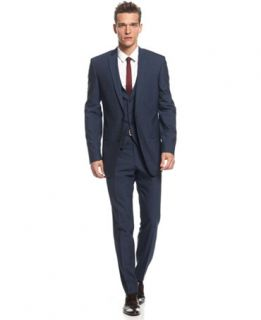 Bar III Midnight Blue Slim Fit Suit Separates   Suits & Suit Separates