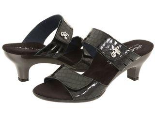 Helle Comfort Bona Black Giron Leather