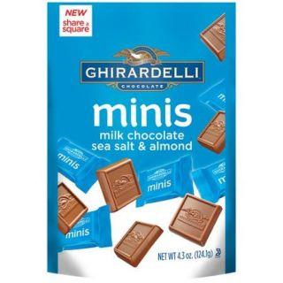 Ghirardelli Minis Milk Chocolate Sea Salt & Almond Candies, 4.3 oz