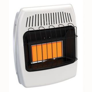 Superior Fireplaces IR10DM 12 000 BTU Infrared Unvented Freestanding Space Heater with Maunual Control