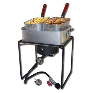 King Kooker 16 in. Rectangular Outdoor Cooker   Outdoor Stoves & Burners