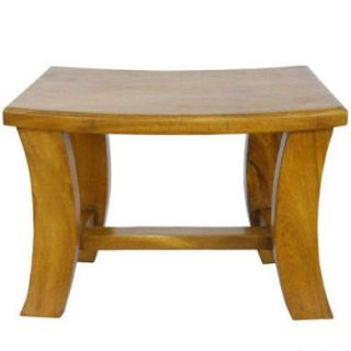 Contemporary Acacia Coffee Table   Pine Finish