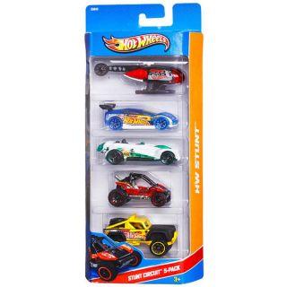 Hot Wheels Stunt Circuit 5 car Set   15955518   Shopping