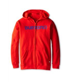 Burton Kids Logo Horizontal Full Zip Hoodie (Big Kids)