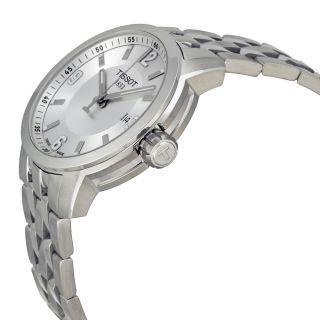 Tissot PRC 200 Quartz Silver Dial Stainless Steel Sport Mens Watch