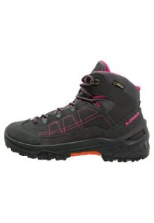 Lowa APPROACH GTX MID    Walking boots   anthrazit/beere
