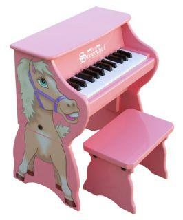 Schoenhut 25 Key Horse Piano   Kids Musical Instruments