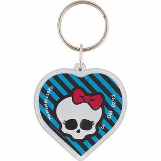 Monster High Key Chain Party Favors, 4pk