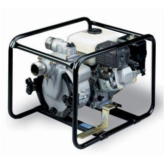 190 GPM Honda Engine Driven Trash Pump with Low Oil Sensor by Tsurumi