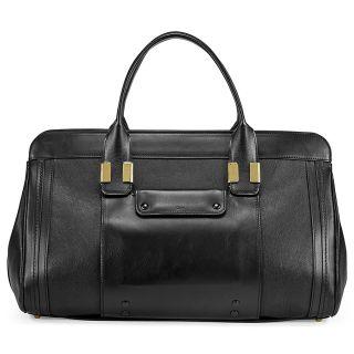 Chloe Alice Medium Satchel Handbag In Black
