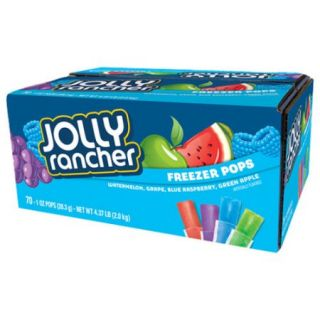 Jolly Rancher Freezer Pops, 1 oz, 70 count